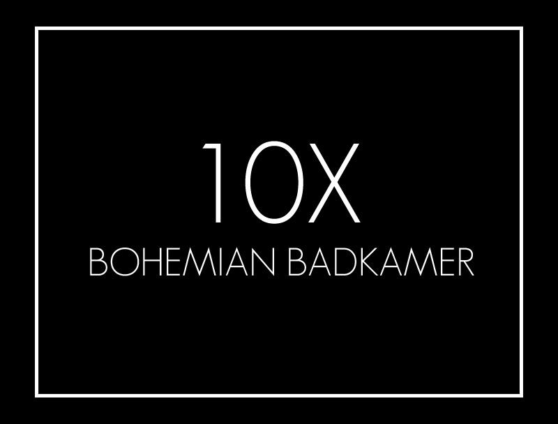Bohemian badkamer