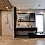 Bruintinten in luxe badkamers ontwerpen