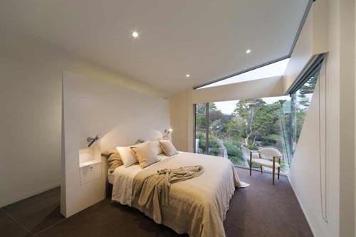 Badkamers voorbeelden » Complete badkamer in slaapkamer