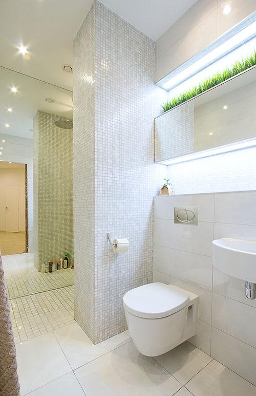 Complete moderne badkamer