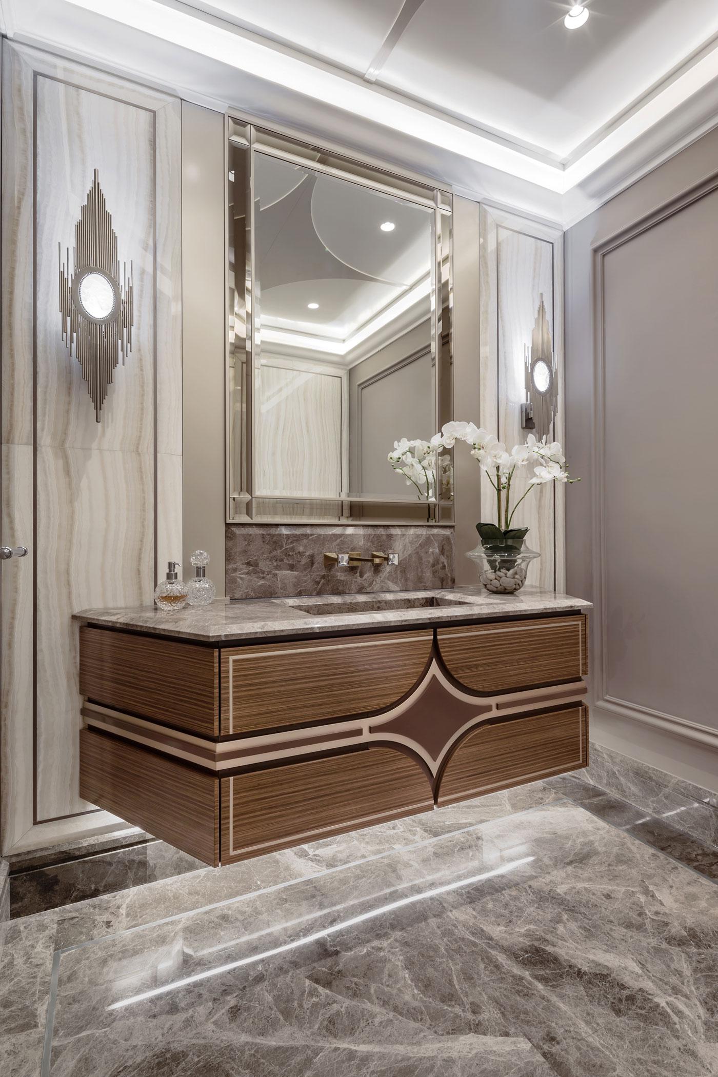 de drie chique klassieke badkamers van een frans appartement badkamers voorbeelden