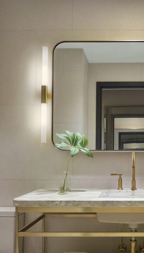 De juiste verlichting voor de badkamer