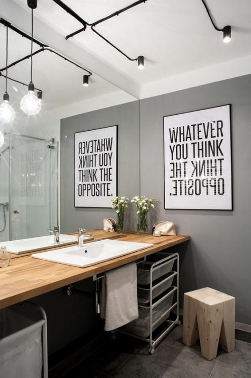 De juiste verlichting voor de badkamer - Badkamers voorbeelden