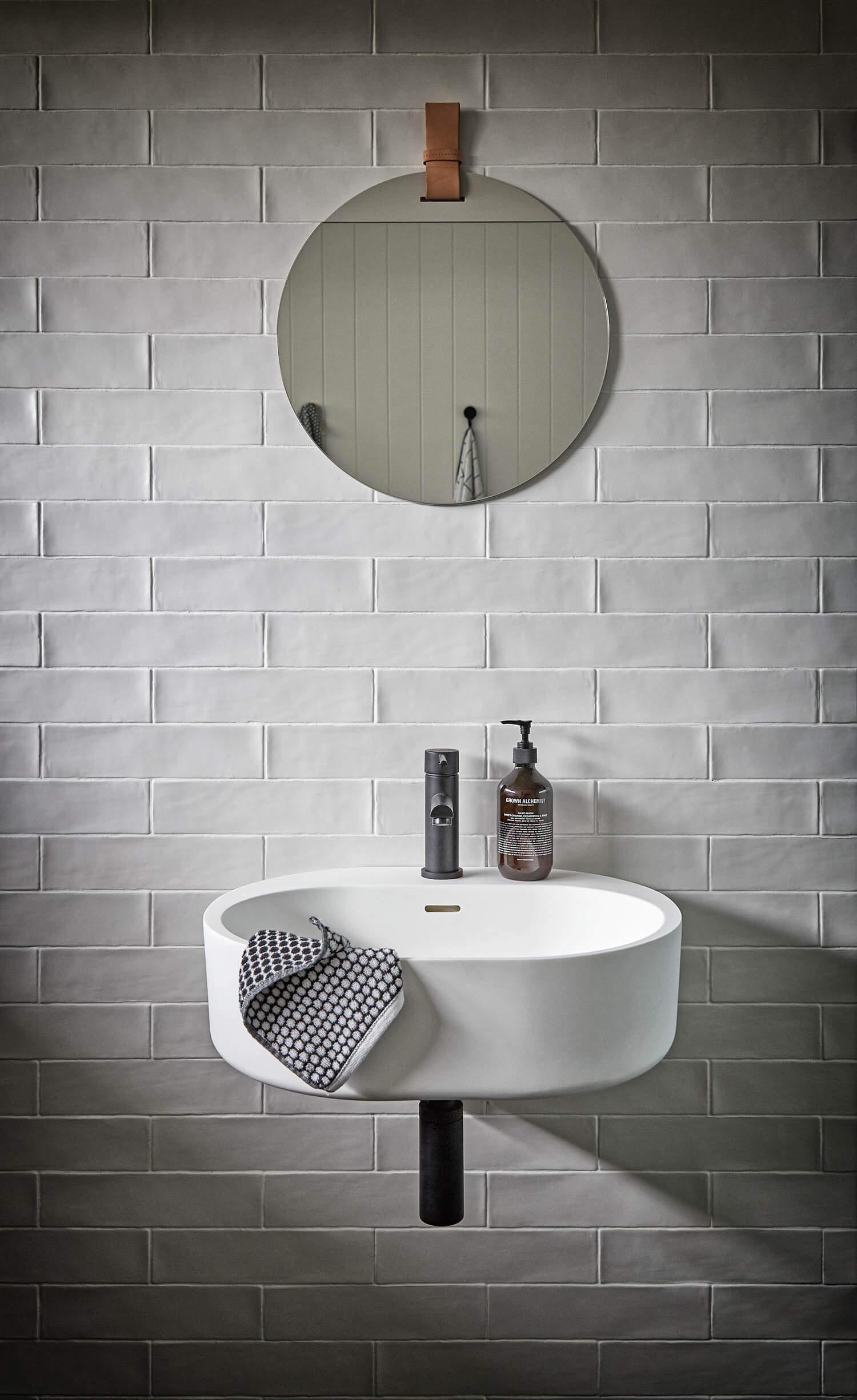 De mooie badkamer van Nord House