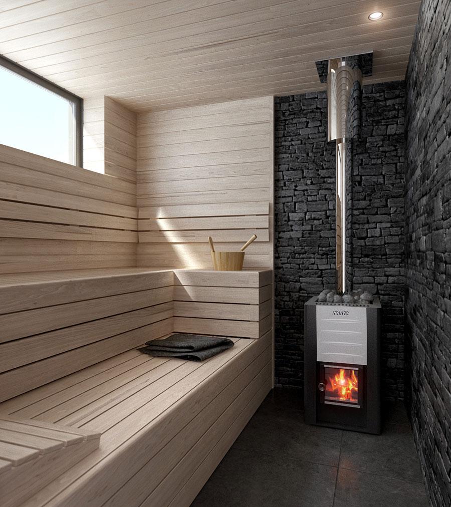 Deze badkamer is ingericht als een spa!