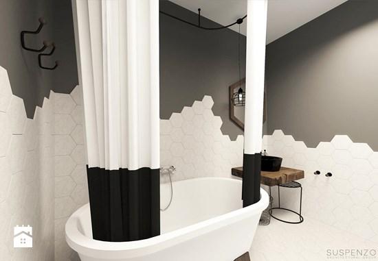 Mooie badkamer door architectenbureau suspenzo badkamers voorbeelden - Zwarte hoek bad ...