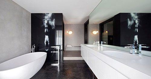 Elegant badkamer ontwerp uit Israel