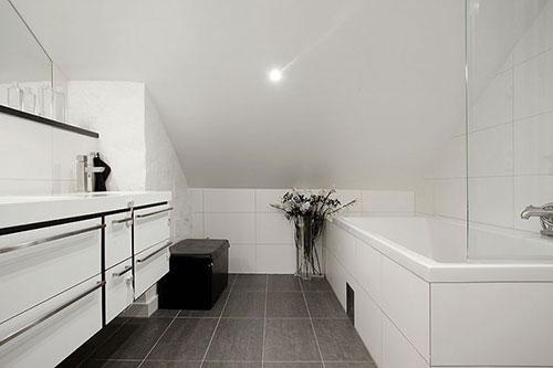 Elegante Scandinavische badkamer - Badkamers voorbeelden