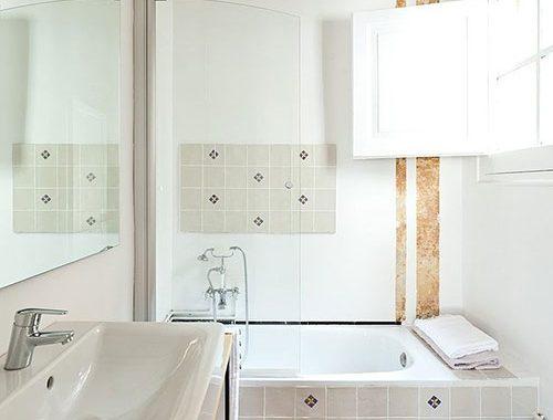 Exotische authentieke badkamer