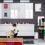 Gezellige IKEA badkamer