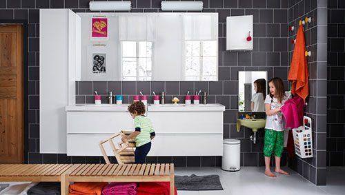 Ikea Badkamer Voorbeelden : Gezellige ikea badkamer badkamers voorbeelden