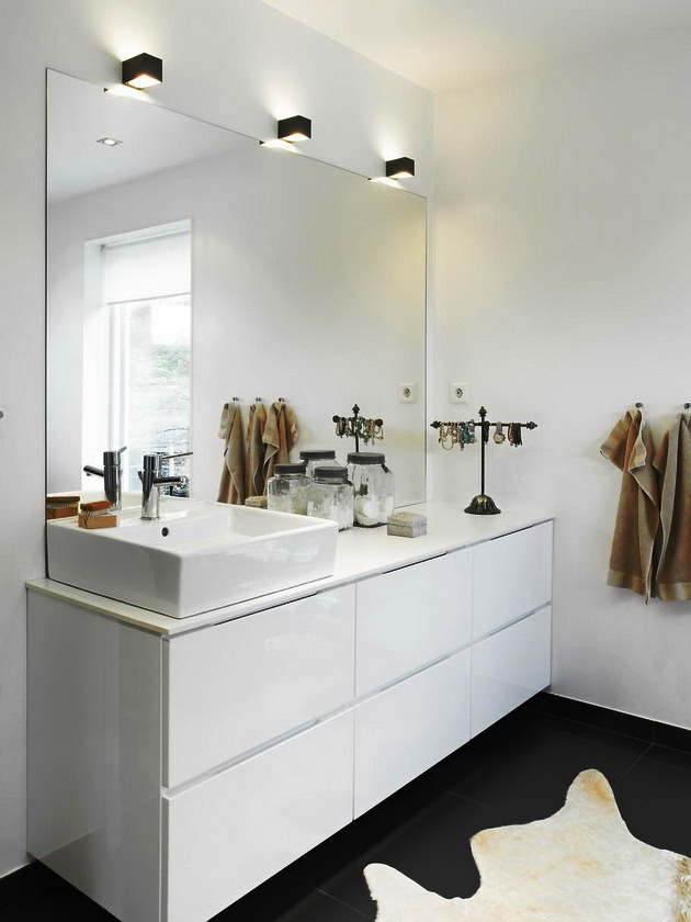 Gezellige moderne badkamer badkamers voorbeelden - Gezellige badkamer ...