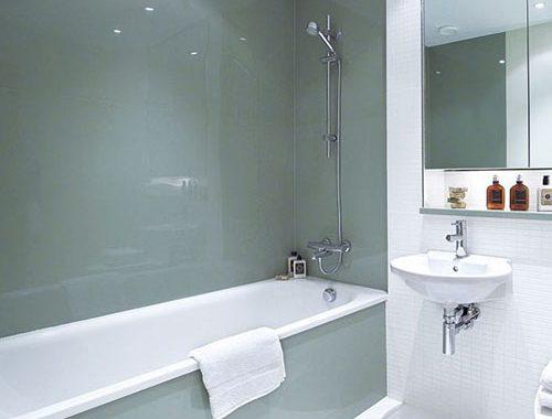 Glazen Panelen Badkamer : Ultramoderne zwart wit badkamer badkamers voorbeelden