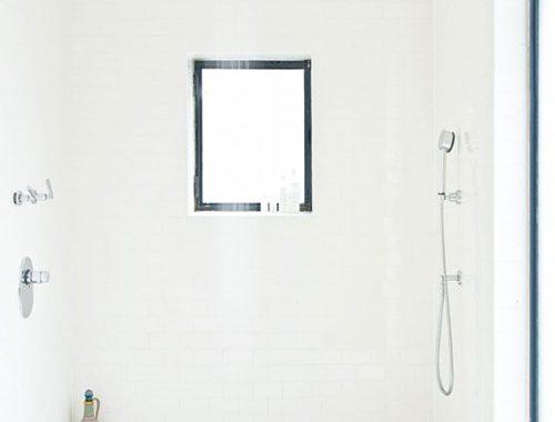 Grote inloopdouche als kleine badkamer