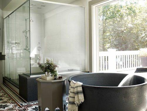 Hammam badkamer van Bobby & Stephanie