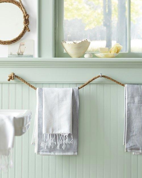 Handdoekrek touw