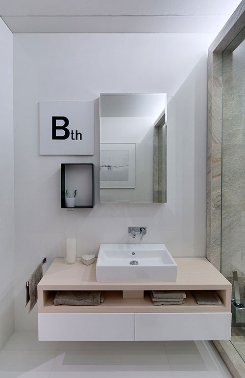 Hippe Badkamer Voor Een Jong Gezin Badkamers Voorbeelden
