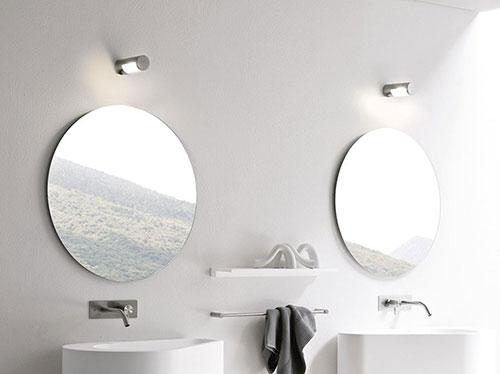 Ronde Spiegel Badkamer : Hole sanitair en spiegels van rexa design badkamers voorbeelden