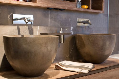 Luxe Chalet Badkamer : Hout in ontwerp van badkamer luxe chalet badkamers voorbeelden