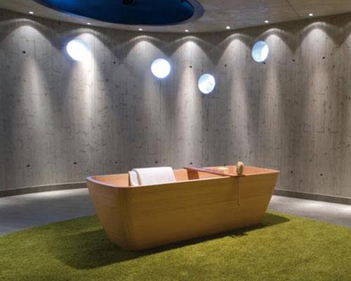 Sanitair Van Hout : Houten sanitair badkamers voorbeelden