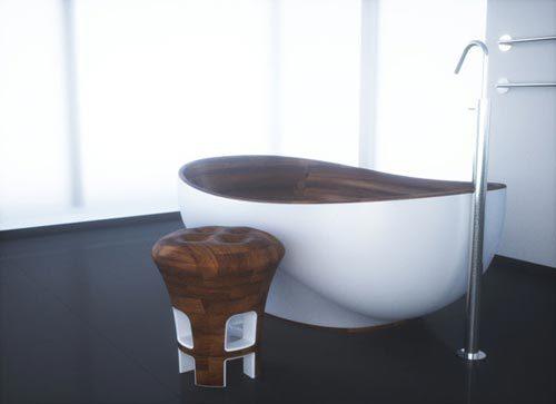 Houten badkamermeubels Kashani