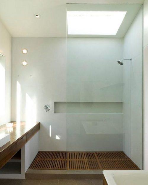 Inbouw douche voorbeelden
