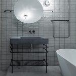 Industriële loft badkamer uit Praag