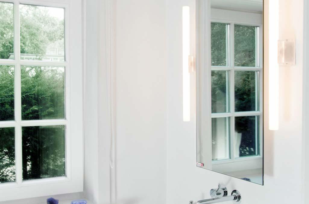 infrarood badkamer verwarming spiegel