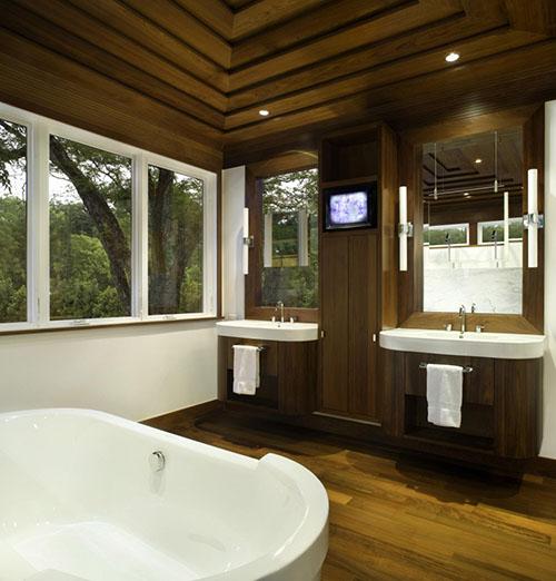 Jaren '40 retro badkamer
