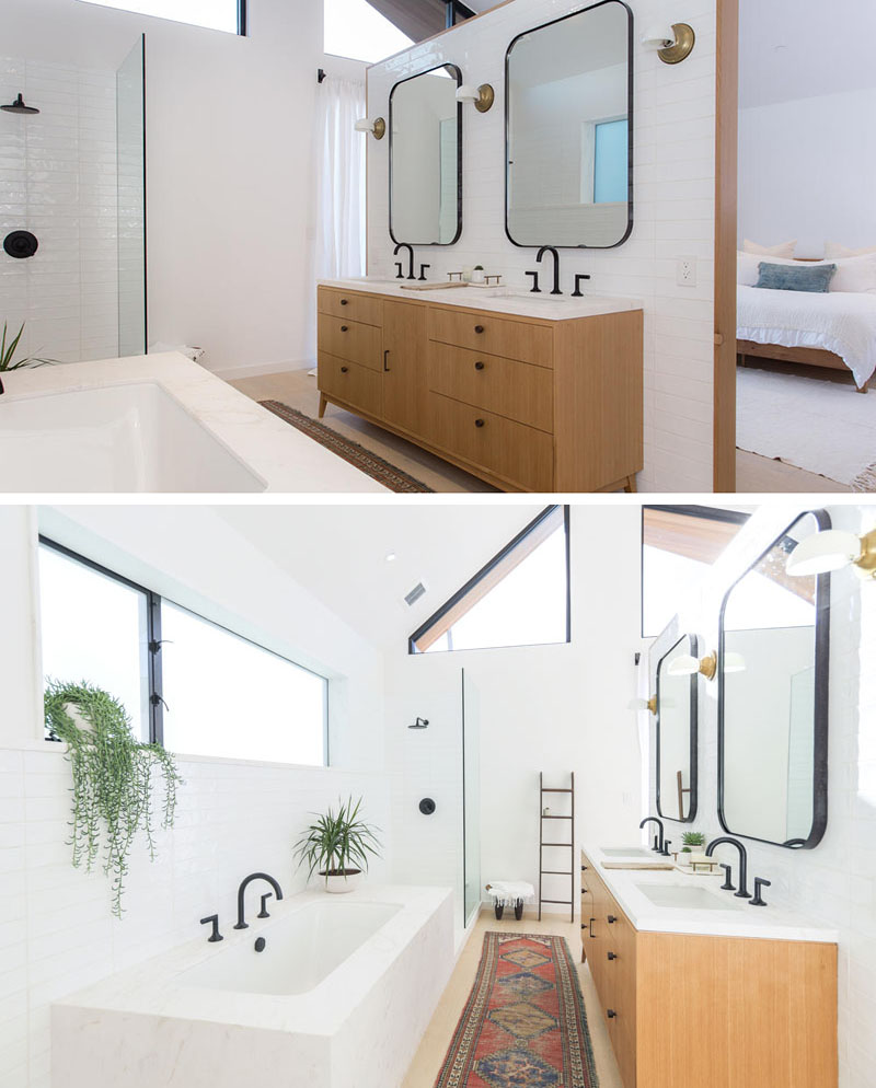 Jaren '50 Scandinavische badkamer