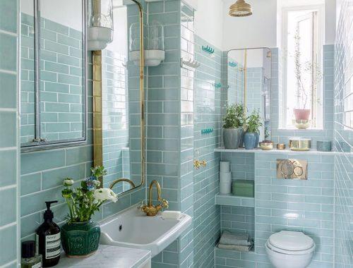 Klassiek chique badkamer van auteur Signe Wenneberg