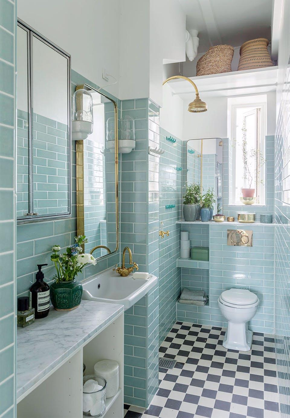 Klassiek chique badkamer van auteur Signe Wenneberg - Badkamers ...