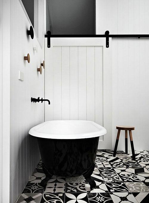 Klassiek en modern in badkamer ontwerp
