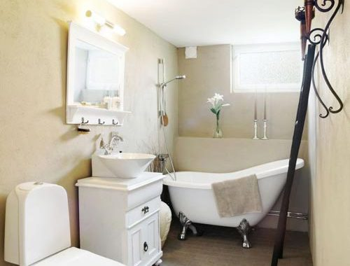 Klassieke badkamer inrichting