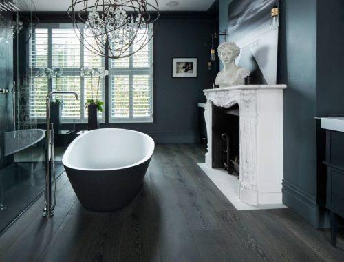 Klassieke luxe badkamer uit Londen