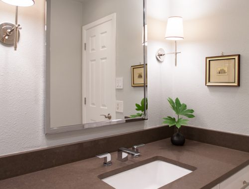 Klassieke vintage badkamer door Erin Williamson Design