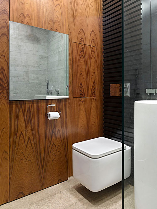 Kleine badkamer van een appartement van 34m2 badkamers voorbeelden - Badkamer klein gebied m ...