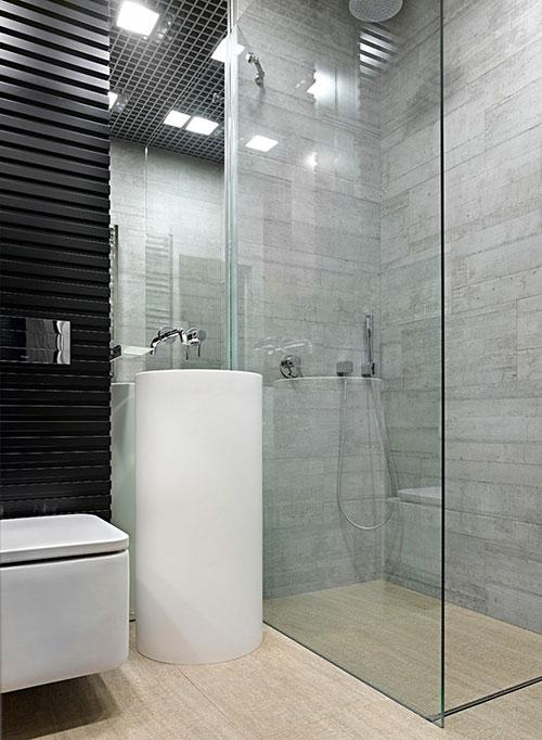 Kleine badkamer van een appartement van 34m2 badkamers voorbeelden - Kleine badkamer m ...
