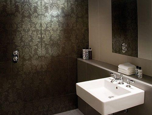Kleine badkamer met Aziatisch tintje