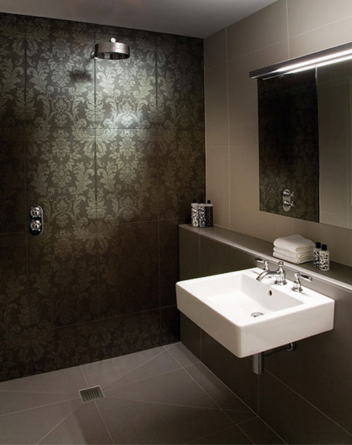 Kleine badkamer met aziatisch tintje badkamers voorbeelden - Foto kleine badkamer ...