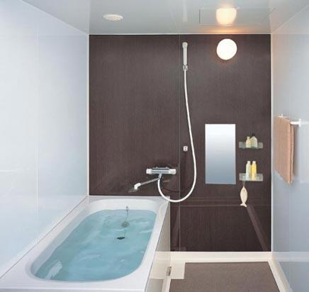 Kleine badkamer van INAX - Badkamers voorbeelden