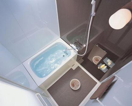Kleine badkamer van INAX