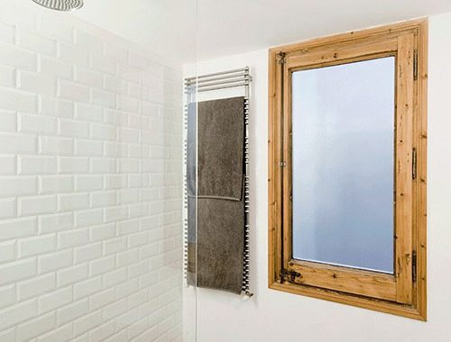 Kleine badkamer inrichting in Barcelona