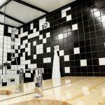 Kleine badkamer in klein appartement