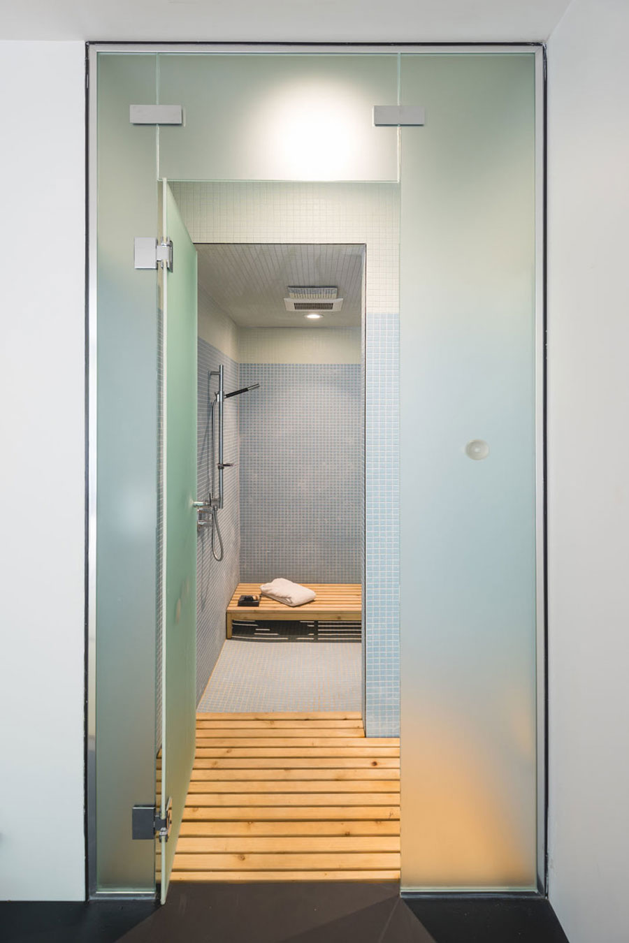 Kleine badkamer met een Japans tintje