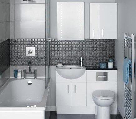 Kleine badkamer optimaal benut