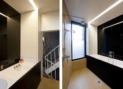 Kleine badkamer renovatie