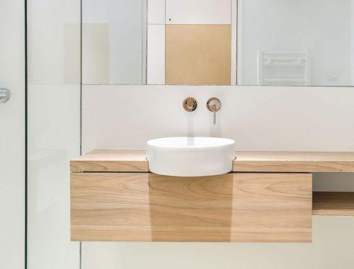 Kleine badkamer door Richard Guilbault