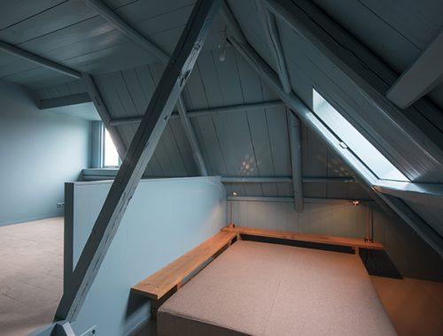 Kleine badkamer van B&B Omke Jan in Friesland