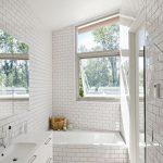 Kleine duurzame badkamer